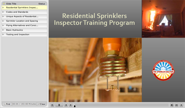 Inspector Training Program